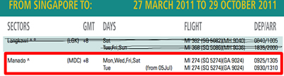 Silkair adds Tuesday Flight from July 5h!!